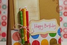 Birthday cards / by Sandra Kingsley