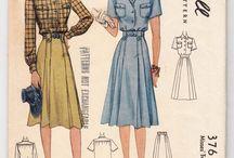 Amazing Vintage Sewing Patterns
