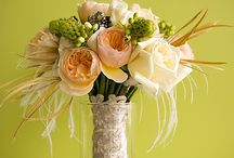 Peach Bouquets / Wonderful Ideas for Anne Griggs Productions