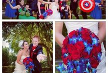 Marvel wedding