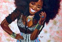 BLACK GIRL ART / Art