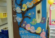 Classroom door ideas / by Andrea Sturgill