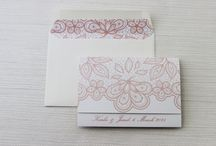 Lace Wedding Invitations and Inspiration / Lace wedding inspiration and ideas
