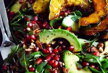 Salads / Healthy, delicious salads make for a great meal anytime. Whether it's got quinoa or chicken, cheese or nuts - there is a salad for everyone! / by Suzi Fevens