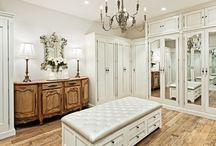 Master Closet, Bathroom and Bedroom
