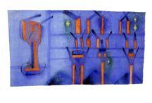 Peter Lipkovič z výstavy Papier kole , / Slovenská koláž / Slovak collage 14.10. - 6.12.2015 GALÉRIA UMELCOV SPIšA www.gus.sk