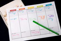 My Organized Life Printables