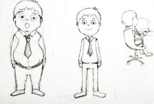 Sketch/Drawing Character Design / #handdraw #drawing #characterdesign #animation