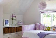 Purple room colours / Not sure what room this is - but here's some good purple themes! / by Rayne Leafe
