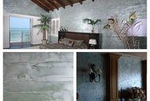 Venetian Plaster / Old World marble plaster techniques