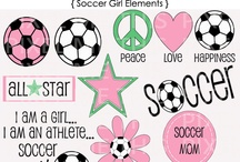 Soccer girls rock / Hit them hard / by Terri