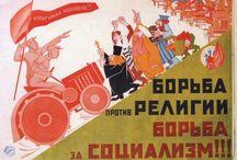 Советские плакаты - Религия / Агитационные постеры, Пропаганда в СССР