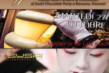 I-Sushi And Cioccolat / Apericena con Mr Udy Italia