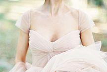 The dress! / Bride, bridesmaids and flower girl dress inspiration