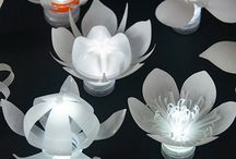 bottle tea light