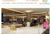 70 Grandwalk / Tapasya 70 Grandwalk Sohna road Gurgaon brings within your reach a lifestyle that till date you have aspired for but never thought it to be possible.