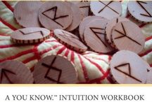 Runes Inspiration  / These are photographs, information and quotes by Jennifer Halls and her book The Runes Workshop.