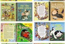 Книги, журналы, открытки для распечатки