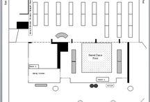 Wedding Reception Floor plans / Floor plan ideas for the Graham Conference Center