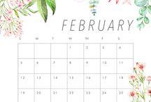 calendarios, organizadores