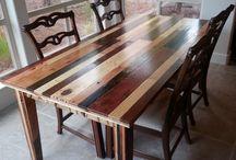 Это стол, за ним едят... / Обеденные столы DIZZA - практичность и красота. Удобство и комфорт. Только натуральные материалы и ручная работа.
