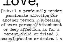 Words and definitions