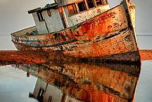 Barcos Abandondos.
