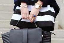 My black&white skirt