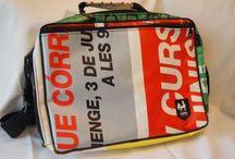 vaho バオ / バルセロナ発のバッグブランド。デザイン性の高い街頭広告を、リサイクル。
