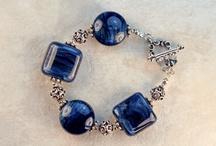 Sterling Silver Lampwork Bracelets