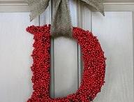 Door wreaths!  / by Alice Bruesch