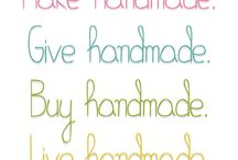 Frasi Creative / Handmade, creatività, fai da te...