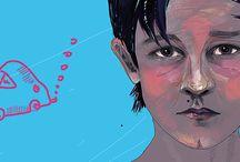 my illustrations / My illo works:)