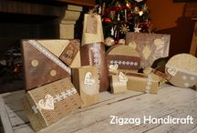 Gift-wrapping / All sorts of ideas about how to wrap the gifts!
