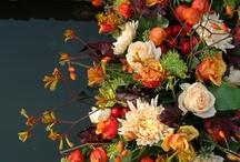 Rouwbloemwerk 'Herfst'