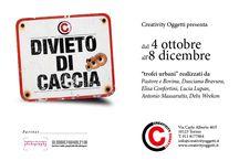 Divieto di Caccia / Mostra da domenica 4 ottobre a martedì 8 dicembre  Inaugurazione domenica 4 ottobre dalle ore 16.00 alle 19.30