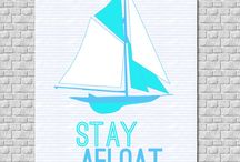 Nautical Decor / Great items for your home when you're away from your boat - or for your boat to make it as comfortable as your home