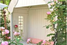 Garden shed and greenhouse