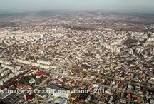 Targoviste from height