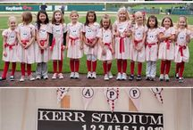 Girls Baseball Party Ideas / A league of her own! Inspired by the Rockford Peaches!