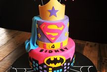 Girl Superhero Birthday