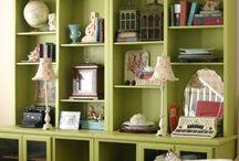 Top of Bookcase Decor