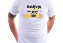 Pánská trička s vtipným potiskem