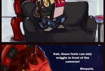 Shepard  X wrex