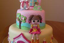 "Lalaloopsy cake Studio ""Fondant Design Ana"" - Serbia / by Figurice Za Torte"