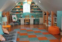 Kids room / by Tiffany Gurss