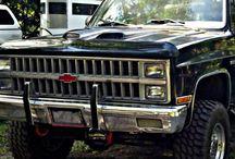 Chevrolet Lifted Trucks Chevy / by GMC Sierra