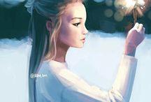 Hiba_ Tan drawings