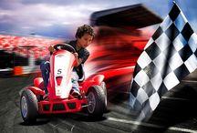 BERG ♥ Race / Ready, set, go! Very few of your friends will be able to keep up with you on this fast pedal #gokart | Klaar voor de start af! Bijna niemand kan je bijhouden op deze snelle #skelters.