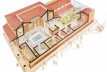 Ancient roman houses